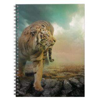 Tigre grande cuaderno