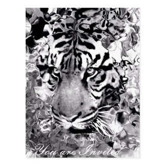 Tigre Greetings__Postcard Postal