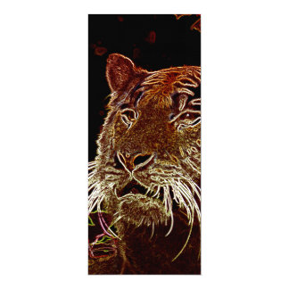 Tigre Invitación 10,1 X 23,5 Cm