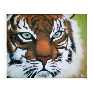 Tigre majestuoso postal