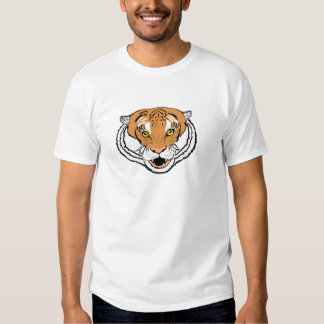 Tigre que ruge camisas