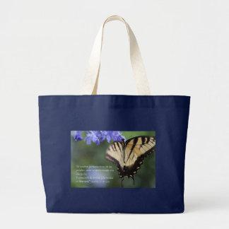 Tigre Swallowtail del mariposa de la estafa de Bolsa Tela Grande