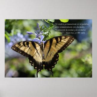 Tigre Swallowtail del mariposa de la estafa de Jua Impresiones
