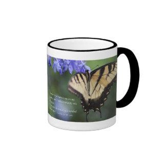 Tigre Swallowtail Tazon de Mariposa de la estafa d Taza A Dos Colores