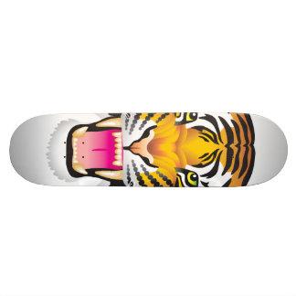 Tigre Patineta Personalizada