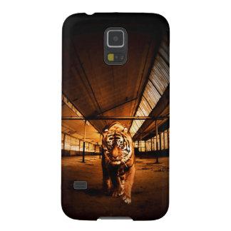 Tigre urbano funda galaxy s5