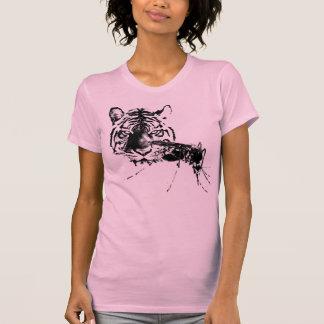 Tigre y del EL el mosquito Camisetas