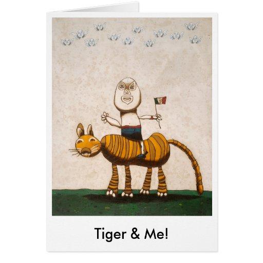 ¡Tigre y yo! Felicitación