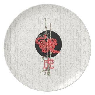Tigre (zodiaco chino) platos