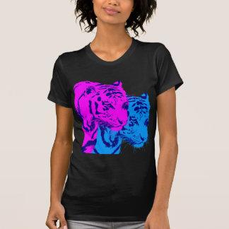 Tigres del gemelo del vintage del tigre 80s de camisetas