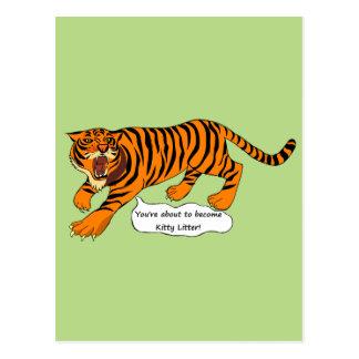 Tigres, leones y retruécanos postal