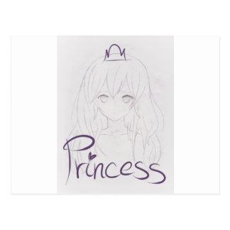 tila anime girl chica princess postal