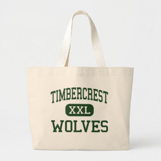 Timbercrest - lobos - joven - Woodinville Bolsas Lienzo