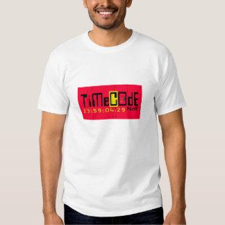 timecode NDF Camisetas