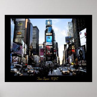 Times Square - impresión de N.Y.C. Poster