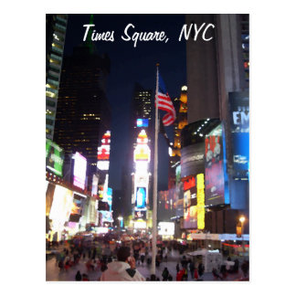"""Times Square, New York City, los E.E.U.U."" Postal"