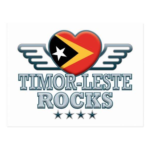 Timor Oriental oscila v2 Tarjetas Postales
