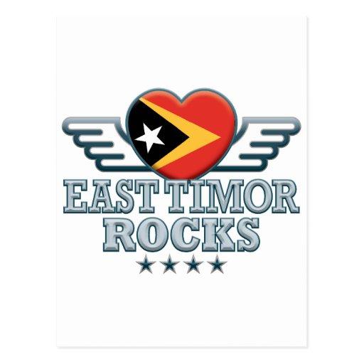 Timor Oriental oscila v2 Tarjeta Postal