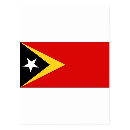 Timor Oriental Tarjeta Postal