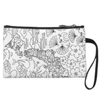 Tinta: Bolso cosmético de JAPÓN/mini embrague