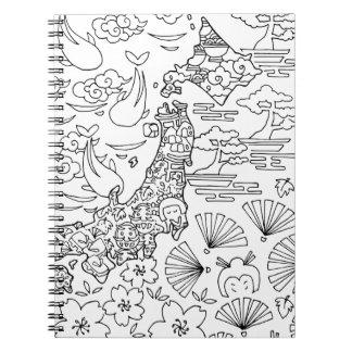 Tinta: Cuaderno de JAPÓN