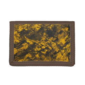 Tinta negra en fondo amarillo