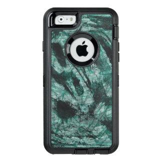 Tinta negra en marcador verde funda OtterBox defender para iPhone 6