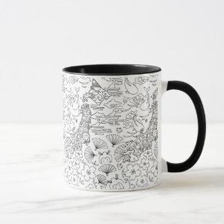 Tinta: Taza de JAPÓN