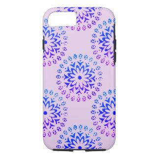 Tinta tribal de la púrpura de la mandala del funda iPhone 7