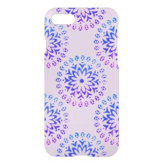 Tinta tribal de la púrpura de la mandala del funda para iPhone 7