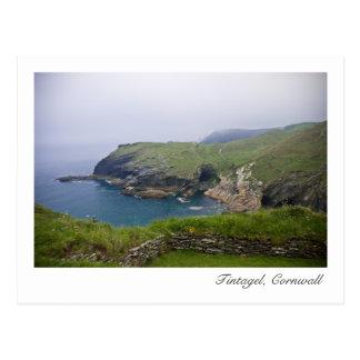 Tintagel, postal de Cornualles