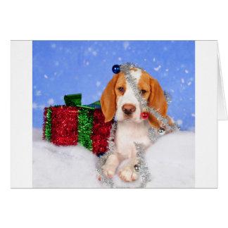 Tintineo del beagle tarjetas