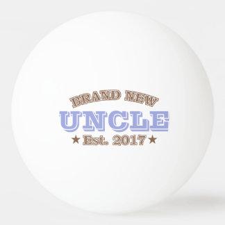 Tío a estrenar Est. 2017 (púrpura) Pelota De Ping Pong