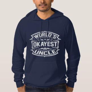 Tío de Okayest del mundo Sudadera