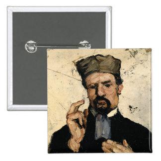 Tío Dominique como abogado, 1866 Chapa Cuadrada 5 Cm