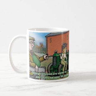 Tío George Tractor Mug 2 Taza De Café