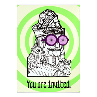 ¡Tío Vlad el genio del evul! Invitación 12,7 X 17,8 Cm