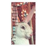Tiovivo del conejo plantillas de tarjetas personales