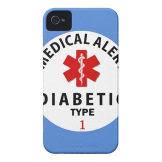 TIPO 1 DE LA DIABETES FUNDA PARA iPhone 4 DE Case-Mate