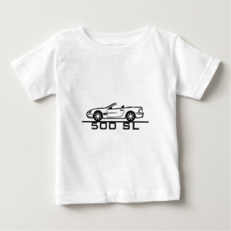 Tipo 230 de Mercedes 500 SL Camiseta De Bebé