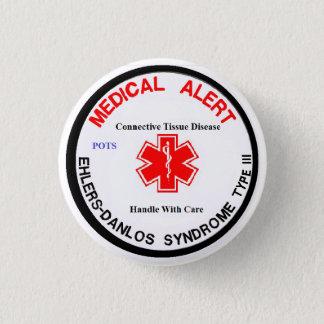 Tipo 3 botón alerta médico del EDS de los POTES