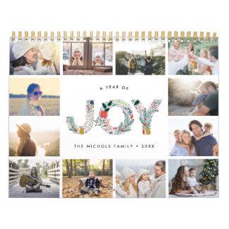 Calendario Tipo alegre el | 2018 calendarios de la foto
