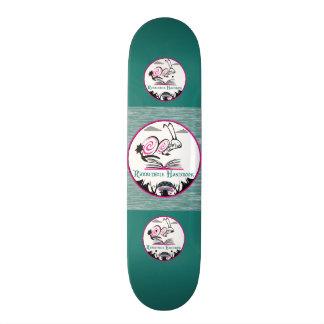 Tipo de la cubierta del patín: MANUAL DE Monopatín 18,4 Cm