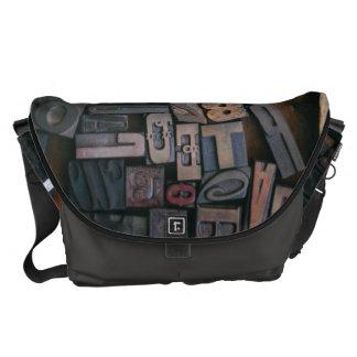 Tipo de madera - impresión exterior de la bolsa de