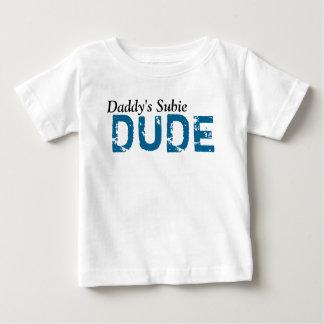 Tipo de Subie del papá Camiseta De Bebé