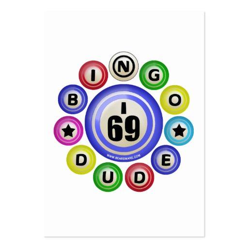 Tipo del bingo I69 Tarjeta De Visita