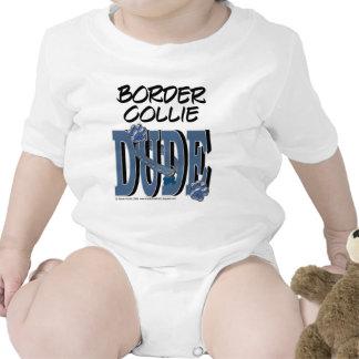 TIPO del border collie Traje De Bebé