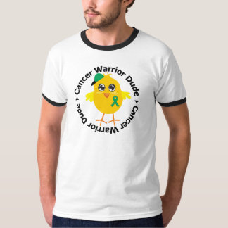 Tipo del guerrero del cáncer de hígado camiseta
