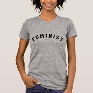 Tipografía colegial de la feminista el | camiseta