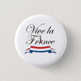 Tipografía de Francia del la de Vive Chapa Redonda De 2,5 Cm